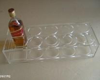 θήκες για ποτά από plexiglass