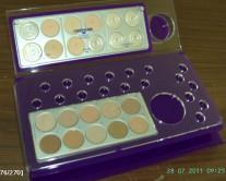 θήκη για νομίσματα από Plexiglass