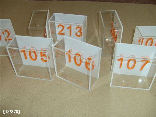 κουτάκια με αριθμούς 1