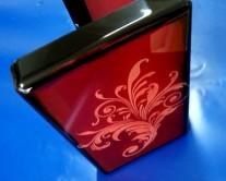 κουτί από Plexiglass με χάραξη από laser
