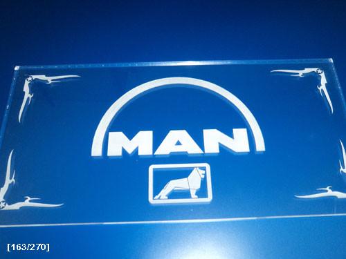 MAN χάραξη με laser