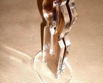 plexiglass αγαλματίδιο