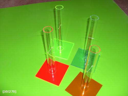 κύλινδροι από plexiglass