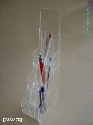 σταντ για στυλό από plexiglass
