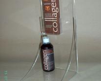 σταντ ακρυλικό με καμπύλη για παρουσίαση προϊόντος