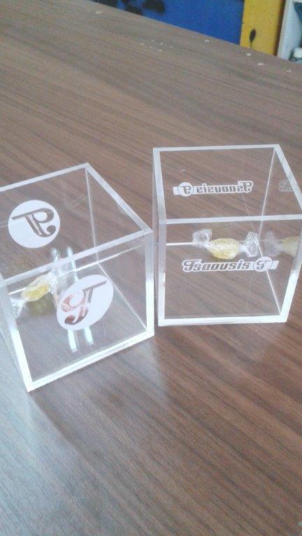 Κουτάκι από plexiglass