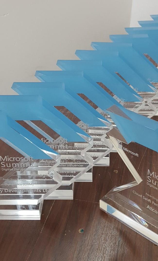 Βραβεία microsoft plexiglass