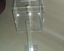 Κληροτίδα με βάση plexiglass