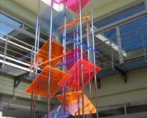 διακόσμηση με φύλλα από plexiglass