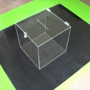 Προσφορά στις κάλπες από plexiglass