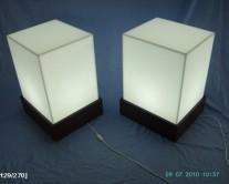 φωτιστικά από plexiglass άσπρα