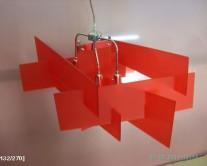 φωτιστικό plexiglass abstract