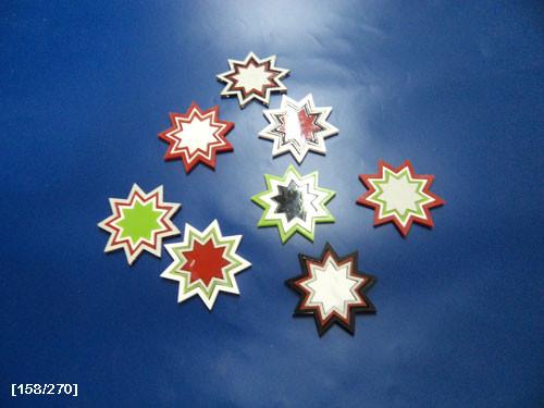 Laser αστεράκια από πλέξι