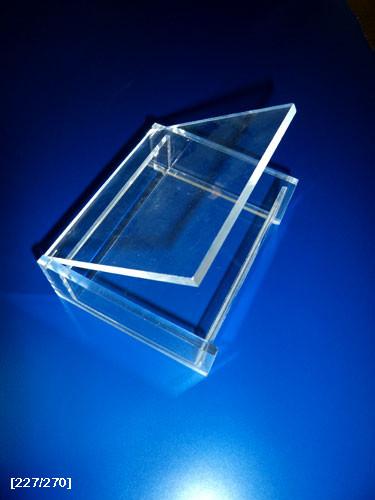 μικρό κουτάκι από plexiglass