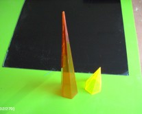 acrylic πυραμίδες
