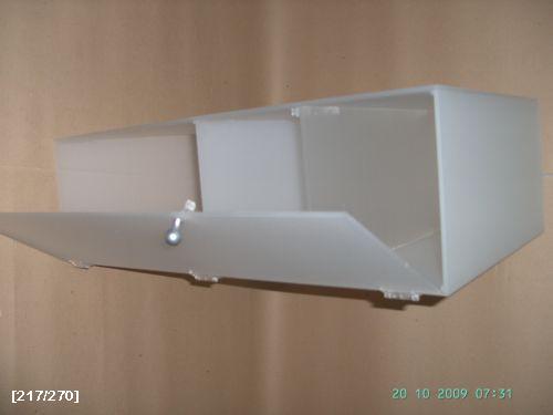 plexi κουτί άσπρο