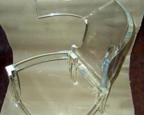 acrylic-glass-καρέκλα