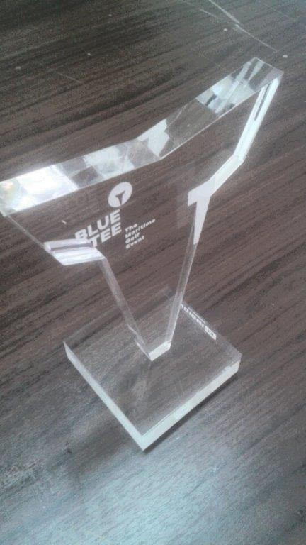Πρωτότυπο βραβείο από πλέξιγκλας